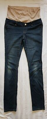 Ladies size 10 Skinny Leg Blue maternity jeans - Jeanswest