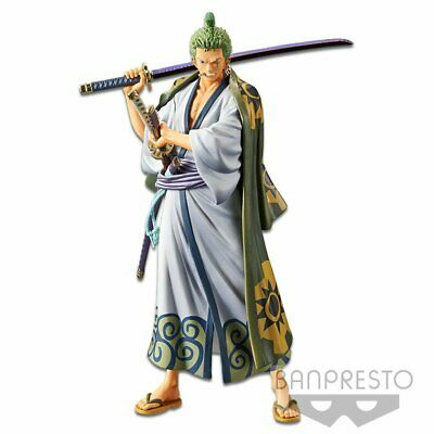 Banpresto One Piece DXF THE GRANDLINE MEN WANOKUNI Vol.2 Roronoa Zoro figure _AU