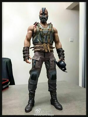 1/6 Batman The Dark Knight Rises Bane Head & M34 Strong Body For 12'' Clothes