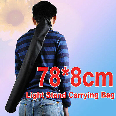 78*8cm Carrying Carry Bag Case for Portable Studio Light Stand & Tripod &Monopod