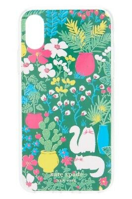 Kate Spade iPhone XS MAX Case Jeweled Garden Posy Comold Case, NEW - $50