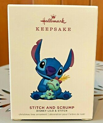 2019 Hallmark Keepsake Disney Stitch and Scrump Limited Ornament NEW