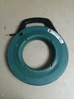GREENLEE FTF540-100 Fish Tape,3/16 In x 100 ft,Fiberglass