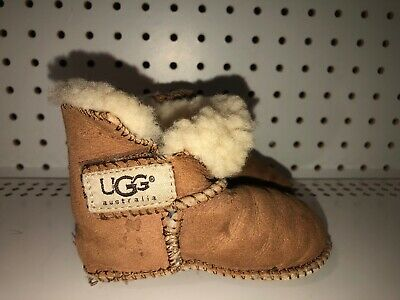 Ugg Australia Erin Girls Baby Infant Insulated Winter Snow Boots Size M Brown