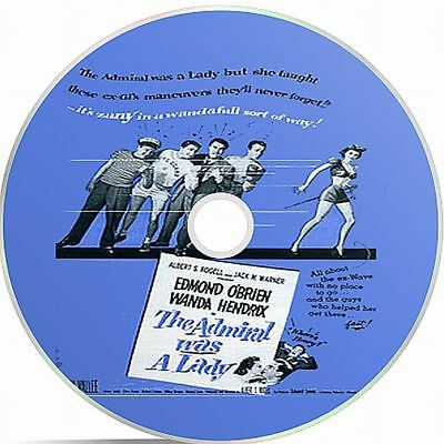 The Admiral Was A Lady (1950) Black And White Public Domain film On DVD