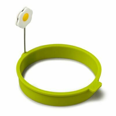 Zeal Egg Ring Round Silicone Lime (Pack of 4)