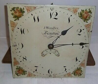 Longcase Grandfather Clock 30 Hour Dial and Movement