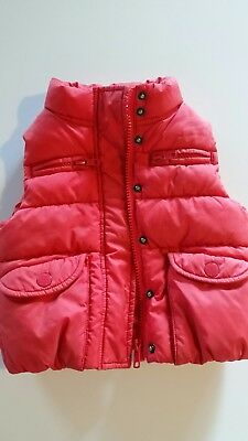 Country Road Boys or girls puffer vest size 12-18 month, bright red