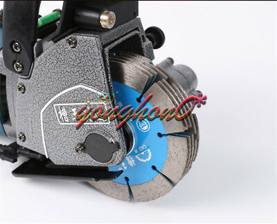Groove Cutting Machine Maximum 5pcs Blades + Leakage Protector 220V Wall Chaser