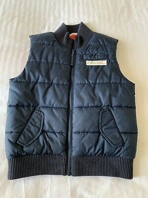 Boys Country Road Puffer Vest Jacket Top Size 7