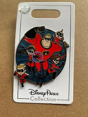 Disney Parks The INCREDIBLES Disney Pin All the Greats  MOVES  2019 NEW