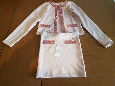 Le Chic Girls Designer Outfit Age 11/12 Skirt And Jacket. Jacket worn once.