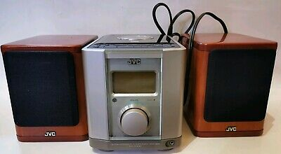 JVC FS-2000GD ULTRA COMPACT COMPONENT SYSTEM w/Speakers