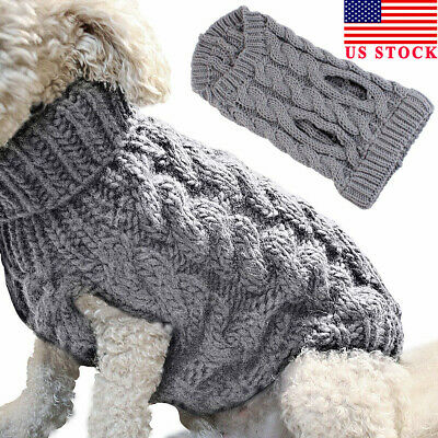 Winter Dog Clothes Puppy Pet Cat Sweater Jacket Coat Small Dogs Chihuahua Coat