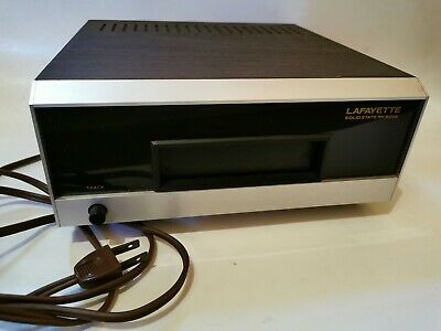RARE! LAFAYETTE RK-800A 8-TRACK PLAYER Track Stereo Cartridge Deck