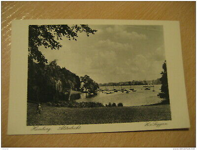 HAMBURG Alsterbucht Post Card Germany