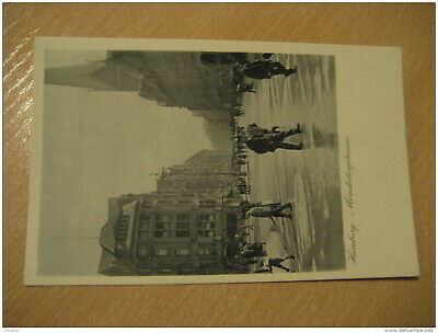 HAMBURG Monckebergstrasse Post Card Germany