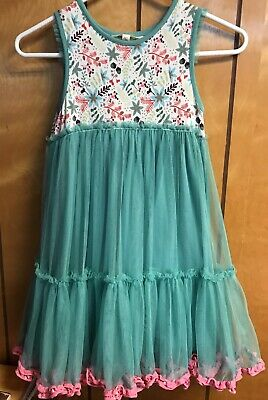 NWOT Matilda Jane Clothing Once Upon a Time 8 Merry Mood Dress Size 8