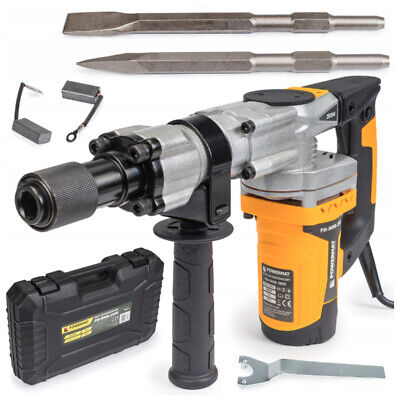 Electric Demolition Hammer 2800W Hex Sds 230/240V + Accessories