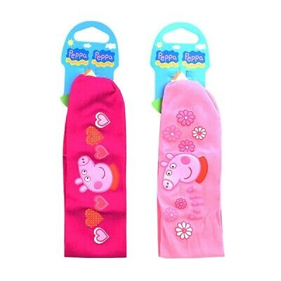 Peppa Pig Twin Pack of Girls Elasticated Hairbands Pink