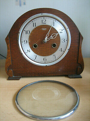 Vintage Smiths Mantle Clock - For Spares Or Repairs