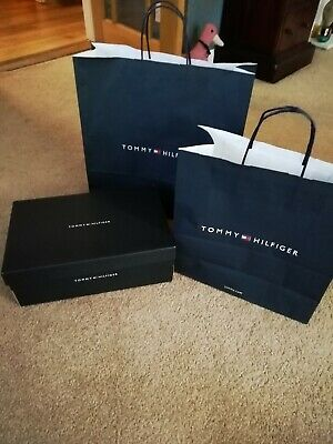 Tommy Hilfiger  gift bags & shoe box
