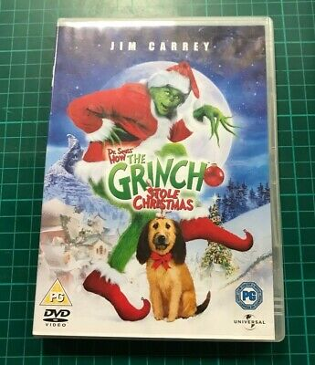 BOXED - How The Grinch Stole Christmas (DVD, 2004)