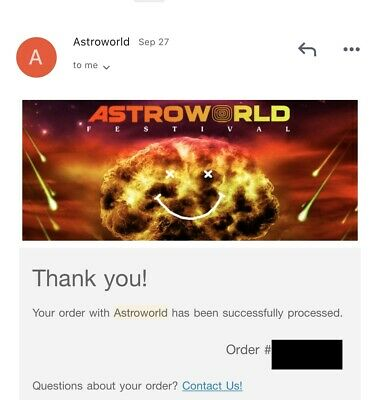 Astroworld Festival (GA) Ticket Houston, TX November 9, 2019 SOLD OUT!!