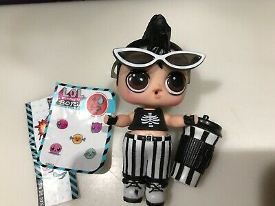 LOL Surprise Doll BOYS Series 1 * Nightfall * (Opened) color changer