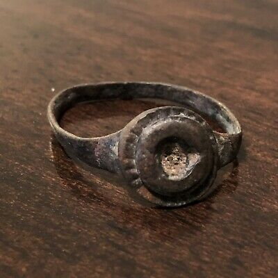 Authentic Ancient Roman Or Byzantine Ring Artifact European Antiquity Old Rome