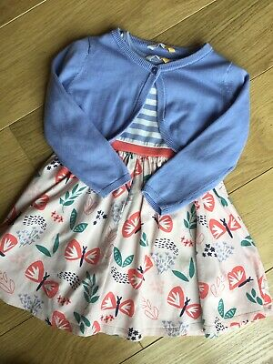 John Lewis Girl Dress And Cardigan Party Outfit 🧡 2-3-4 Years 🧡