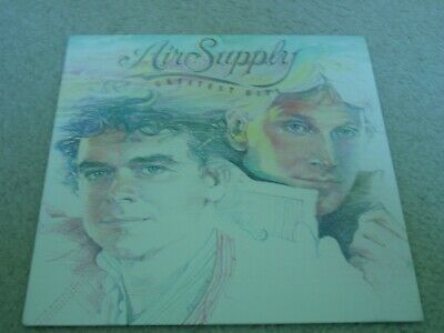 Air Supply Greatest Hits   Pop/  Rock W/Inner Sleeve 12' Lp 33Rpm  Ex