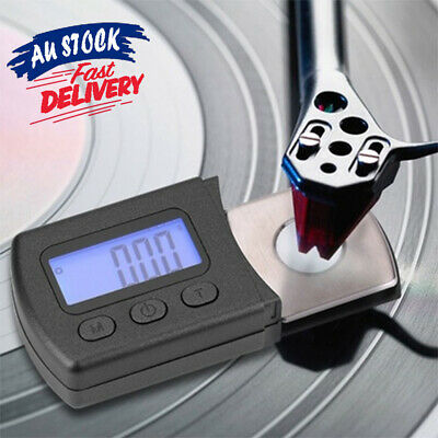 Professional Gauge Portable Scale Digital Force LCD Turntable Stylus Pressure