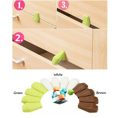 CA Multi-function Drawer Cabinet Anti-pinch Kid Safety Lock Protective Buckle