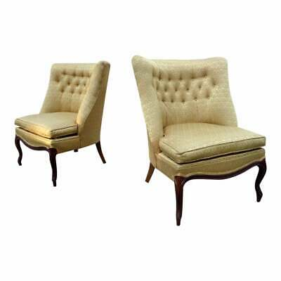 Wondrous Mid Century Gold Tufted Velvet Lou Regester Down Loveseat Alphanode Cool Chair Designs And Ideas Alphanodeonline