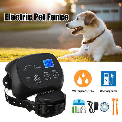 Waterproof Wireless Electric Dog Fence System Pet Containment Transmitter