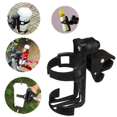 New Rotatable Baby Stroller Holder Parent Console Bottle Cup Rack 360° Whirligig