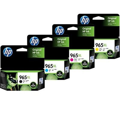 HP Genuine 965XL High Yield Ink for OFFICEJET PRO 9010 9012 9016 9018 9019