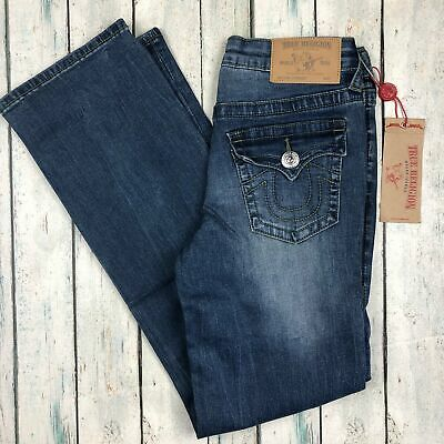 NWT - True Religion Straight City Lights Jeans- Size 10