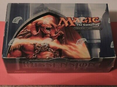 MTG Magic the Gathering Dissension English Factory Sealed Booster Box 36ct.