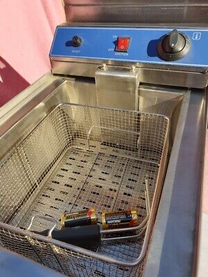 Gf Series Autocontrol Gas Deep Fryer Stainless Steel Ignition System GF-171