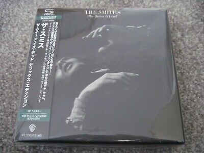 THE SMITHS The Queen Is Dead 2017 Deluxe Edition JAPAN ONLY 3 SHM CD + DVD BOX