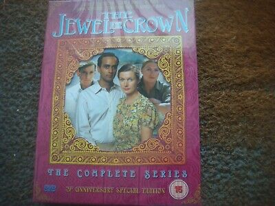 NEW & FACTORY SEALED The Jewel In The Crown - The Complete Series (DVD, 2005)