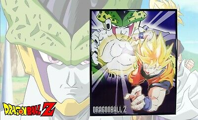Dragon Ball Z GOKU SS PERFECT CELL pad mouse//poster plastica flessibile cm.18x25