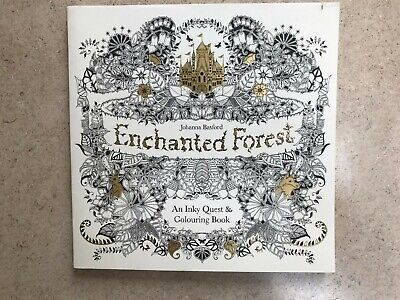 Johanna Basford Enchanted Forest older girls art/colouring book