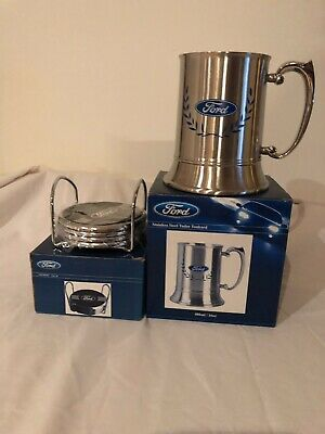 Ford Tankard And Coasters