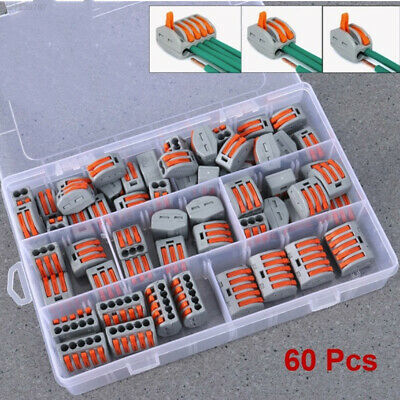 326F Grey Terminal Block Cable Electric Durable Electric Cable Connectors