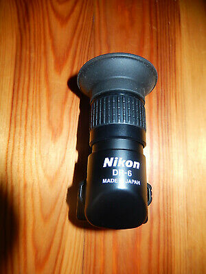 Nikon DR-6 angle view finder in excellent condition with case but no box