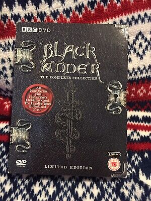 Black Adder The Complete Collection + Christmas  Limited Edition DVD Boxset