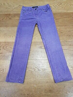 Mini Boden Girls Purple Cord jeans aged 8 years